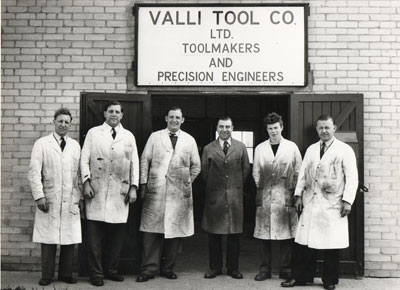 Valli Tools in the 1950's